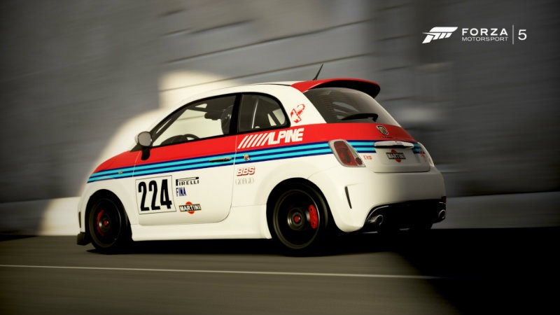Nsr Fiat 500 Abarth Assetto Corse Martini Racing Zot4slot